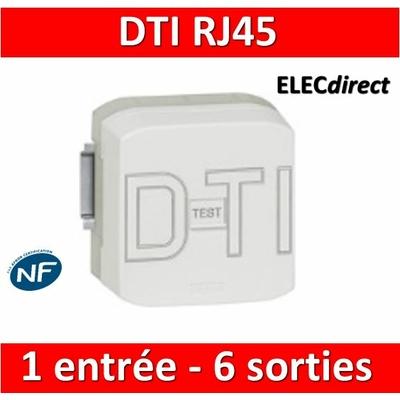 Legrand - DTI RJ 45 - 1 entrée - 2 sorties - 051221