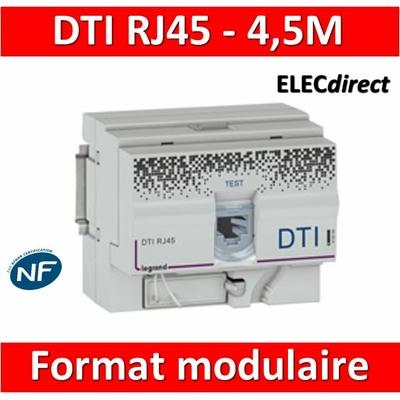 Legrand - DTI RJ45 format modulaire - 413008