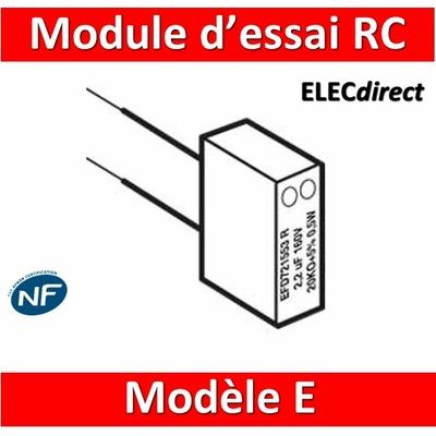 Legrand - Module d'essai RC - modèle E - 051248