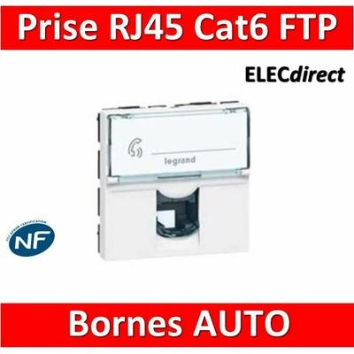 Legrand Mosaic - Prise RJ45 Cat. 6 FTP - 076565