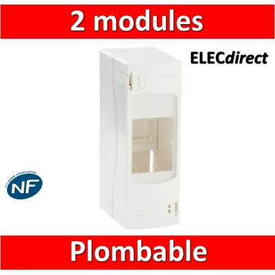 Legrand - Coffret cache-bornes 2 Modules - 001302