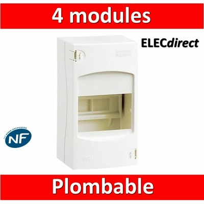 Legrand - Coffret cache-bornes 4 Modules 90x160x74mm - 001304