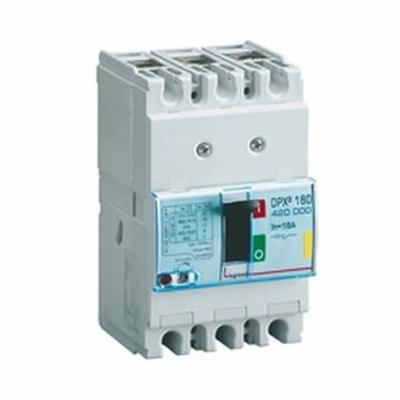 Legrand - Disjoncteur de puissance DPX3 160 - magnéto-thermique - 16 kA - 3P - 100A - 420005