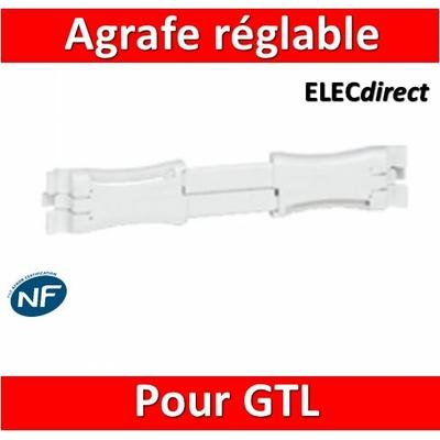 Legrand - Agrafes réglable - 030075 Par 2