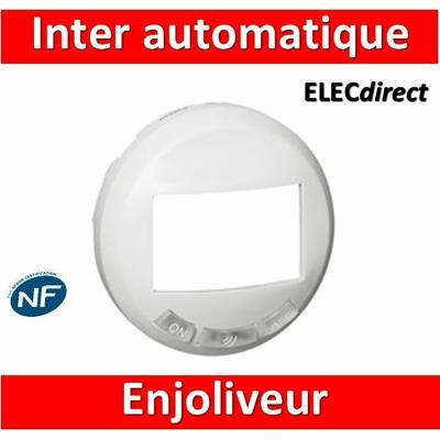 Legrand Céliane - Enjoliveur blanc inter automatique - 068035