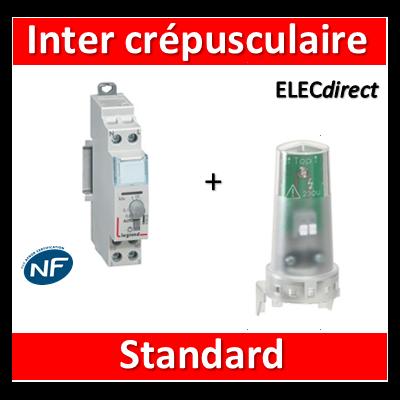 Legrand - Interrupteur crépusculaire standard - 230V - 412623