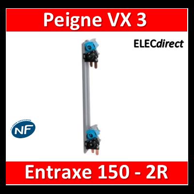Legrand - Répartition verticale VX3 optimisée entraxe 150 mm 2R - 405003