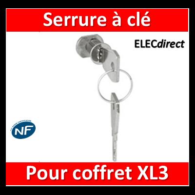 Legrand - Serrure à clé N 850 pour porte XL3 125 - 401851