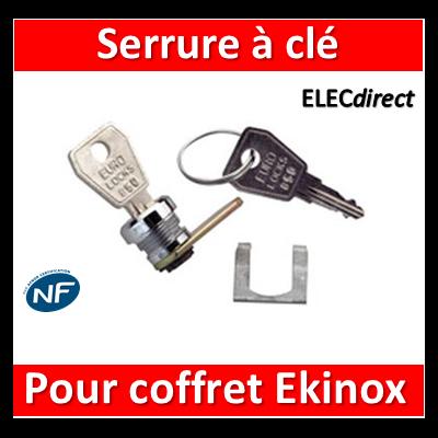 Legrand - Serrure à clé N 850 pour coffret mini Ekinox - 001390