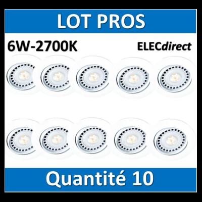 Aric - Spot LED 6W - 2700K x10 - 5205