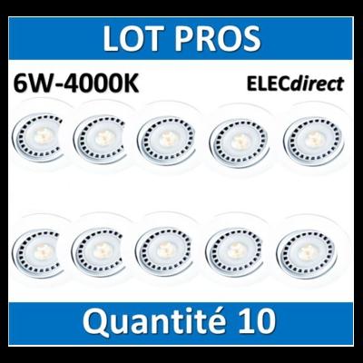 Aric - Spot LED 6W - 4000K x10 - 5204