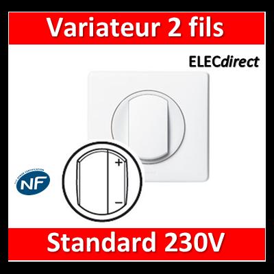 Legrand Céliane - Variateur complet 2 fils standard