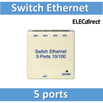 Tonna - Switch ethernet 5 ports - 828680