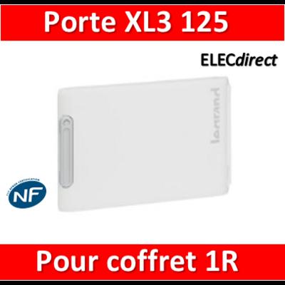 Legrand - Porte coffret XL3 125 - Coffret 1 rangée - IP40/IK09 - 401861