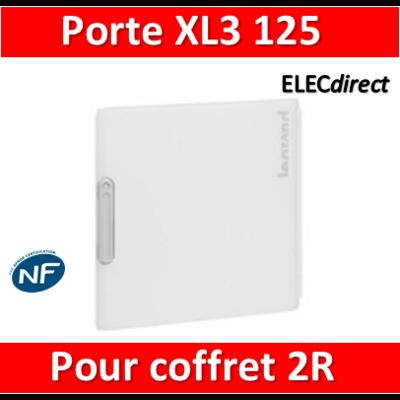 Legrand - Porte coffret XL3 125 - Coffret 2 rangées - IP40/IK09 - 401862