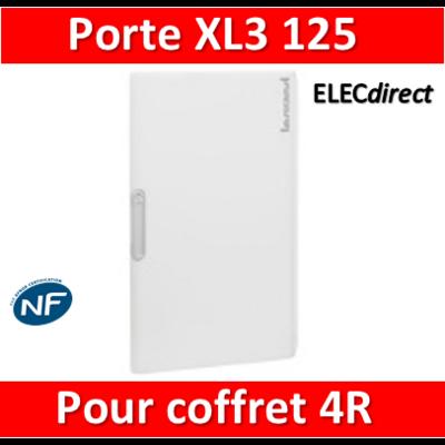 Legrand - Porte coffret XL3 125 - Coffret 4 rangées - IP40/IK09 - 401864