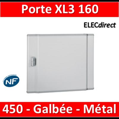 Legrand - Porte coffret XL3 160 - H. 450mm - Galbée - Métal - 020252