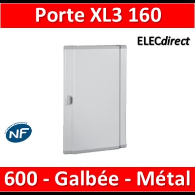 Legrand - Porte pour coffret XL3 réf 401803 H. 600mm - Galbée - Métal - 020253
