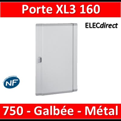 Legrand - Porte coffret XL3 160 - H. 750mm - Galbée - Métal - 020254