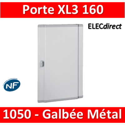 Legrand - Porte coffret XL3 160 - H. 1050mm - Galbée - Métal - 020256