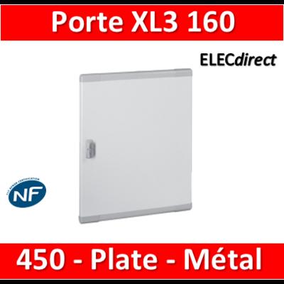 Legrand - Porte coffret XL3 160 - H. 450mm - Plate - Métal - 020272
