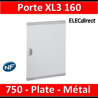 Legrand - Porte coffret XL3 160 - H. 750mm - Plate - Métal - 020274