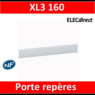 Legrand - Porte-repères adhésif clipsable - XL3 160 - 020399