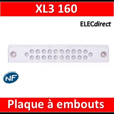 Legrand - Plaque à embouts - XL3 160 - 020021