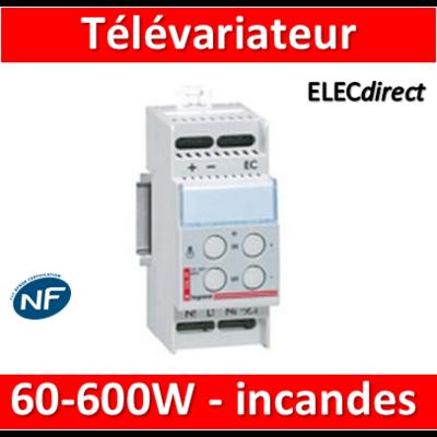Legrand - Télévariateur - Pour charges Incandescentes 60-600W - 003659