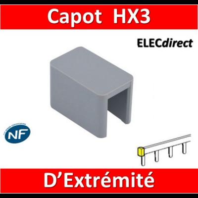 Legrand - Capot d'extrémités pour peignes HX3 - 404989