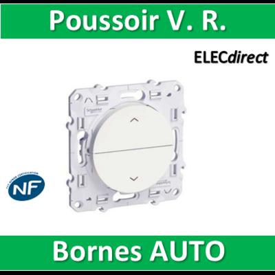 Schneider Odace - Poussoir volets-roulant 2 boutons montée/descente - s520207