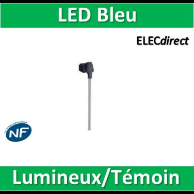 Schneider Odace - Témoin/Lumineux LED Bleu - s520291