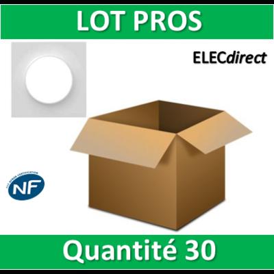 Schneider Odace - LOT PROS - Plaque 1 poste - s520702x30