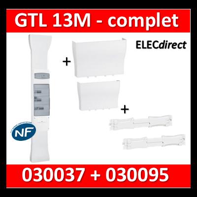 Legrand - Kit GTL 13M - Avec couvercle complet + 1 cornet - long. réglable - 030037+030095