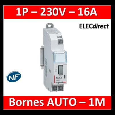 Legrand - Télérupteur CX3 - Unipolaire 16A - 230V - AUTO - 412420