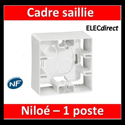 Legrand Niloé - Cadre saillie 1 poste - 664798
