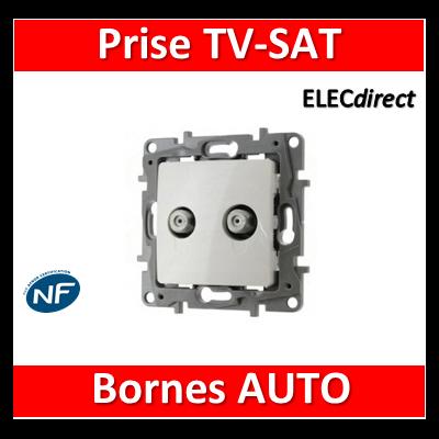 Legrand Niloé - Prise TV/SAT Blanc - 664756
