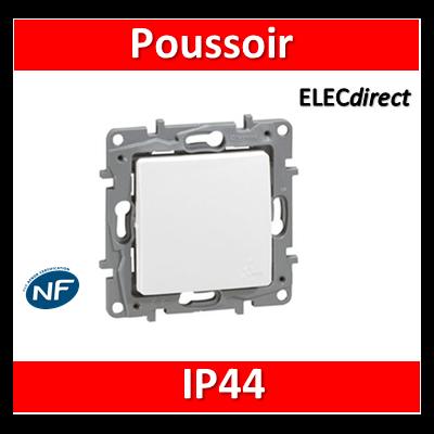 Legrand Niloé - Poussoir - IP44 - étanche à l'air - 664725