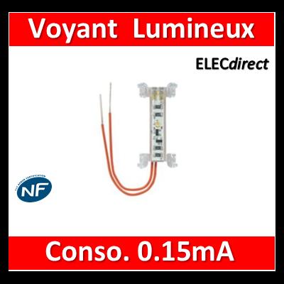 Legrand Niloé - Lampe Lumineux - Faible consommation 0.15mA - 230V - Blanc - 665090