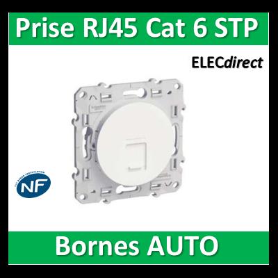 Schneider Odace - Prise RJ 45 cat 6 STP Grade 3 - s520476