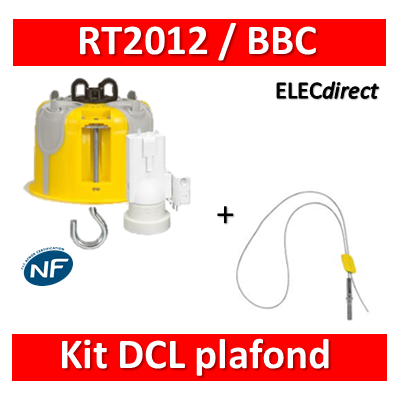 Legrand Batibox - Kit point de centre DCL BBC - 089360
