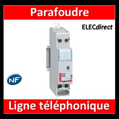Legrand - Parafoudre pour lignes téléphoniques numérique - 003829