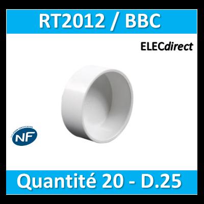 SIB - Bouchon BBC 25 - quantité 20