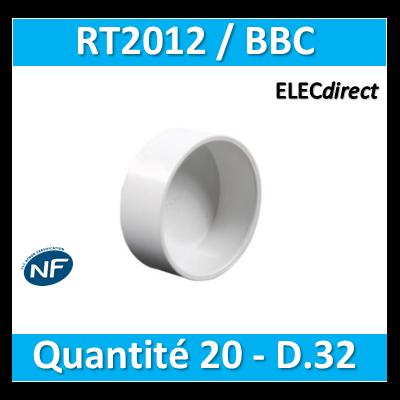 SIB - Bouchon BBC 32 - quantité 20