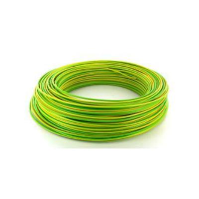 Câble HO7VR 6 mm2 rigide - V/J - vendu au m.