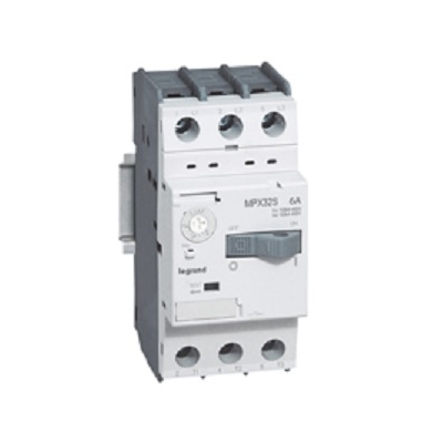 Legrand - Disjoncteur moteur Tripolaire - 0,1 à 0,16A - MPX3 32s - 417300