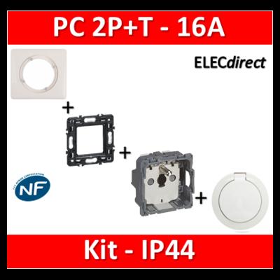 Legrand Céliane - Kit IP44 - Prise 2P+T 16A - complet