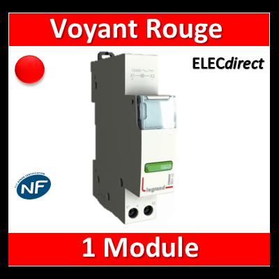 Legrand - Voyant rouge 250V - LED - 412927
