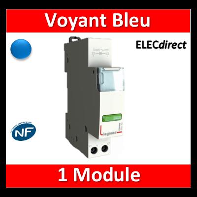 Legrand - Voyant Bleu 250V - LED - 412929