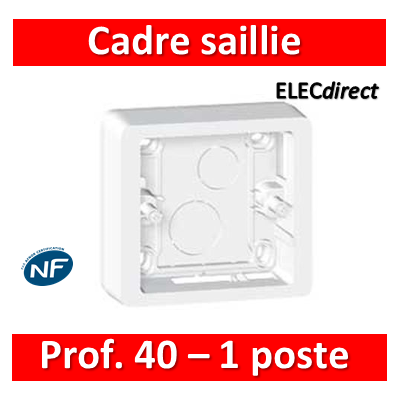 Legrand Céliane - Cadre 1 poste prof.40 - 080241